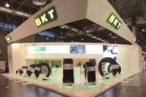 Lo stand BKT al SIMA 2015 (Parigi, 22-26 febbraio).