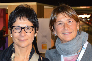 Clementina Palese e Valeria Fasoli.